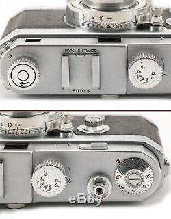 (114) O. P. L FOCA Universel Mod. 3 with5 lenses IBs vari-finder caps case serviced