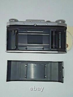 1953 Praktiflex FX WAIST LEVEL FINDER 35MM SLR Film Camera 50mm f2.9 Lens 12.9
