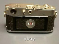 1954 Leica M3 Double Stroke Rangefinder Camera withCase, Summilux 50mm f/1.4 Lens