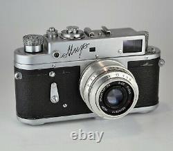 1959 RUSSIAN USSR MIR M39 rangefinder camera + INDUSTAR-50 lens f3.5/50, BOXED