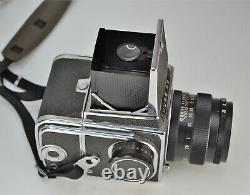 1981 First Issue! Ussr Kiev-88 Medium Format Camera + Vega-12v Lens, Boxed (2)