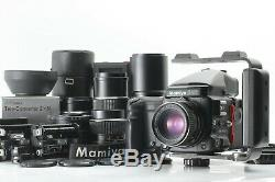 5LensExc++++++ Mamiya 645 Pro TL with 80 +55+150+210+300mm from Japan 1525