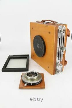 5x4 VIEW FIELD CAMERA with KODAK 152mm F4.5 EKTAR Lens Professionally Checked