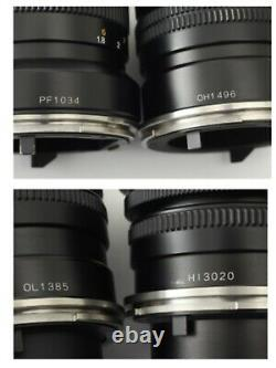 ALL CLA'd MINT+++ Mamiya 7II Black + 43,65,80,150mm 4Lens + 2Finder From JAPAN