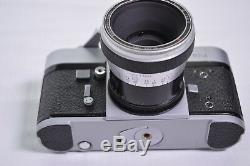 ALPA 10d Camera SLR with 40mm Macro Kilfit Makro Kilar E C lens Original Case