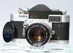 ALPA MODEL 6C FILM REFLEX SLR CAMERA With KERN MACRO-SWITAR 50MM F/1.8 AR LENS