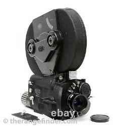 ARRI Arriflex 16 M Movie Camera withCooke Kinetal 17.5mm T2 Lens, Mag ++Near Mint