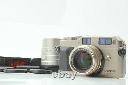 AS-IS Contax G1 Green Label Camera + 45mm f2 90mm f2.8 Lens From Japan #243