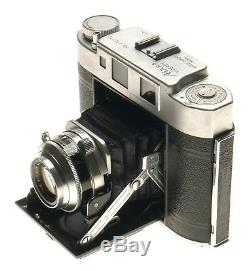 Aires Viceroy Folding Camera Coral 13.5 f=7.5cm Lens 6x6 or 4.5x6 Film Tokyo