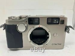 Almost MINT Contax G2 35mm Rangefinder Film Camera + 28mm F2.8 Lens from Japan