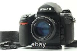 Almost MintNikon F6 35mm SLR Film Camera + AF Nikkor 50mm f/1.4D Lens Japan