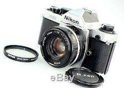 Almost MintNikon FM2N 35mm SLR Film Camera with Nikkor 50mm F1.8 Prime Lens