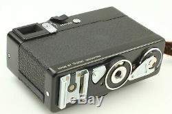 App N-Mint Rollei 35 Black 35mm Compact Camera Tesser 40mm F/3.5 Lens f Japan