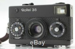App N-Mint Rollei 35 Black Compact 35mm Film Camera 40mm F/3.5 Lens from Japan