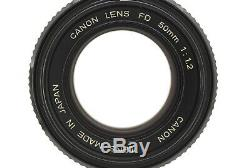Appearance MINT! Canon New FD 50mm F1.2 Used MF Manual Focus Camera Lens NFD