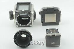 As-is Zenza Bronica S2 6X6 Film Camera with P C 75m F2.8 Lens From Japan 378