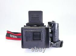 BRONICA ETRS 120 FILM 6x4.5 MEDIUM FORMAT CAMERA WITH GRIP AND 75MM LENS