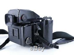 BRONICA ETRS 120 FILM MEDIUM FORMAT CAMERA OUTFIT 75mm LENS, AE-II FINDER GRIP