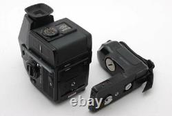 BRONICA SQ-Ai 6x6 120 Film Camera & 80mm Lens with Grip AE Finde Working Used