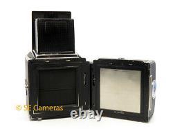 Black Hasselblad 500cm 500c/m Camera & Planar 80mm F2.8 T Lens, A12 Back & Wlf