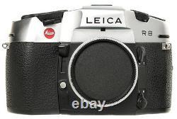 Brand New Unused Leica R8 Single Lens Reflex SLR Film Camera Silver 10080