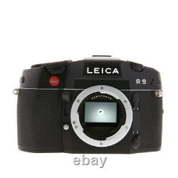 Brand New Unused Leica R9 Single Lens Reflex SLR Film Camera Black Chrome 10091