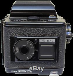 Bronica GS-1 6x7 Medium Format SLR Film Camera with 100mm f3.5 lens ALL BOXED