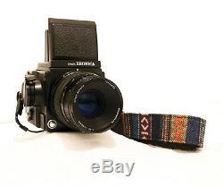 Bronica GS-1 Medium Format SLR Film Camera with Zenzanon-PG 100 mm lens Kit