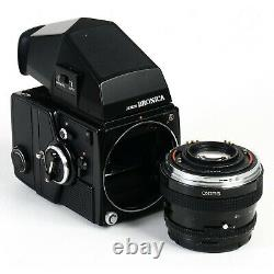 Bronica SQ-A 6x6 Camera with PS 80mm f2.8 Lens + Metered Prism & 120 SQ-i Back