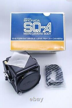 Bronica SQ-A Camera Body With Zenzanon MC f/3.5 150mm Lens