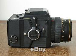 Bronica SQ-A Medium Format Film Camera + 105mm f/3.5 S Lens + WLF + RFH Kit