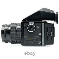 Bronica SQ with Prism and 150mm f4 Zenzanon-PS Lens and 220 Back