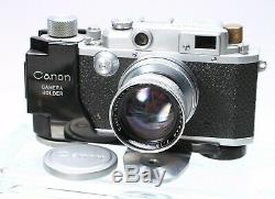 CANON IIB 35MM FILM RANGEFINDER CAMERA With SERENAR 50MM F/1.9 LENS MIOJ