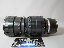 CHROSZIEL ANGENIEUX ZOOM 10-150MM LENS BMPCC 4/3-MOUNT for 16mm MOVIE CAMERA
