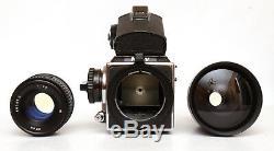 CLA'd Hasselbladski Kiev-88CM 6x6 Medium Format Film Camera with 2 Lenses