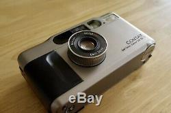 CONTAX T2 35mm Film Camera with 38mm Carl Zeiss T Sonnar f/2.8 lens