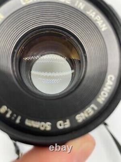 Canon AE-1 35mm SLR with 50mm f/1.8 FD Lens Film Tested With Photos