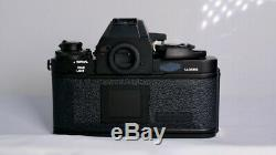 Canon F-1 F1 35mm Film SLR Camera withAE Finder and 50mm f/1.4 lens (EXC)