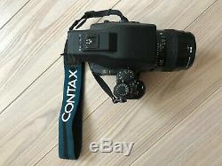 Contax 645 Camera 80mm F/2 Lens Battery Grip