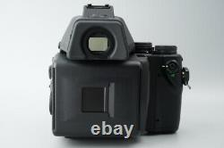 Contax 645 Medium Format Film Camera with Zeiss 80mm f2 Lens + MF-1 Viewfinder