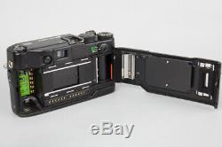 Contax G2 35mm Rangefinder Film Camera + Carl Zeiss Planar 45mm f/2 Lens Black