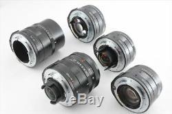 Contax G2 Black + 28mm + 45mm + 90mm + 35-70mm + 35mm lenses TLA 200 (5130-K196)