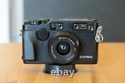 Contax G2 Black + 28mm 45mm 90mm Lens + TLA200 +