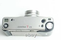 Contax TVS film camera with Carl Zeiss Vario-Sonnar 3.5-6.5 28-56 lens. TESTED