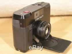 Contax T 35mm Rangefinder Film Camera with38mm F2.8 T Sonnar Lens And T14 Flash