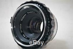EXCELLENT+++ Zenza Bronica S2 6X6 Film Camera withP 75m F2.8 Lens Fully Works