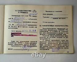 EXC! 1992 KIEV-60 MEDIUM FORMAT CAMERA + MC VOLNA-3 lens, FULL SET