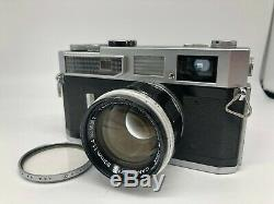 EXC+3 Canon 7 Rangefinder Film camera + Lens 50mm f/1.4 L39 From JAPAN