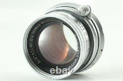 EXC+4 Leica M3 Single Stroke Rangefinder 35mm +Summicron 50mm f/2 lens Japan