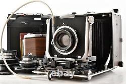 EXC+4 Linhof Super Technika V 4x5 135mm 150mm 180mm F5.6 Lens From Japan Z06Y